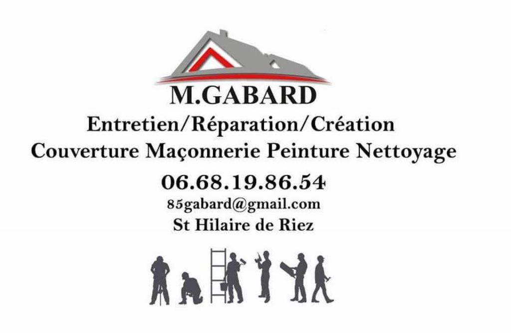 Carte de visite M.Gabard couverture Vendée