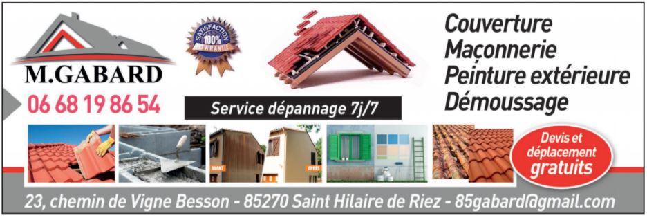 Couvreur Vendée 85