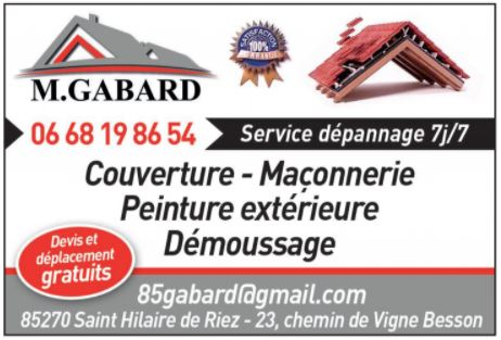 Couvreur Vendée